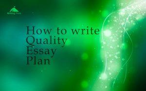 essay planning photo