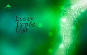 types of essay photo