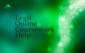 is online coursework help legit photo