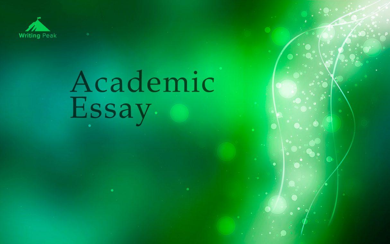 write an academic essay photo