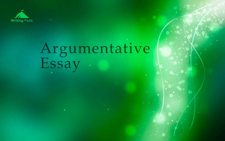 how to write argumentative essay photo