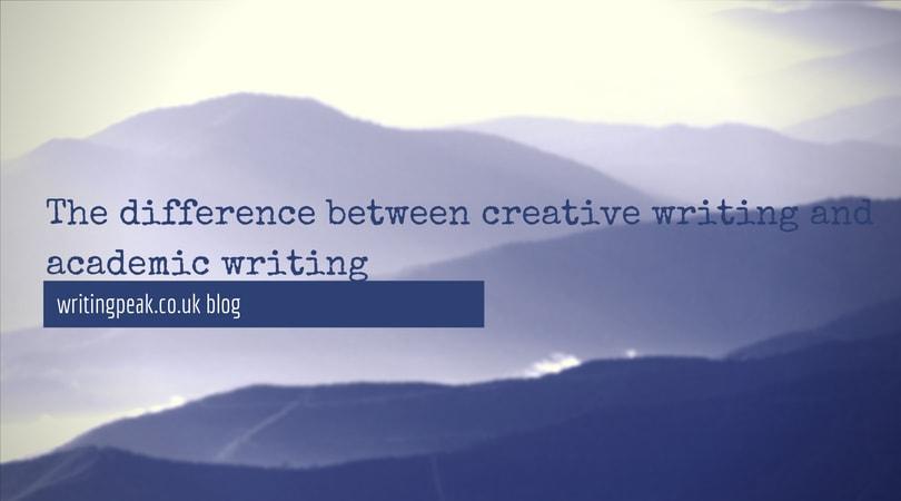 creative writing vs academic writing
